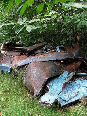 English: A heap of scrap metal