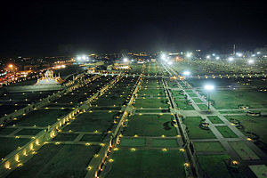 Bagh-e-Qassim at Sea View Clifton in Mid-Night...