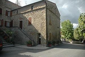 birthplace of Benito Mussolini in Predappio, t...