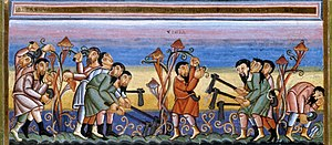 Parable of the Workers in the Vineyard, Codex ...
