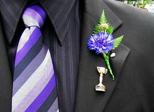 cornflower, the symbol of Melbourne Cup, Derby day