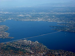 English: Evergreen Point Floating Bridge (Wash...