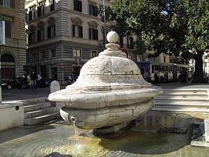 Fontana della chiesa nuova