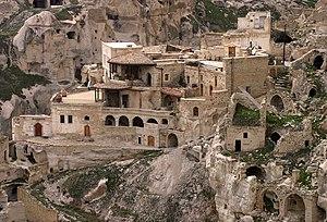 A house in Cappadocia.