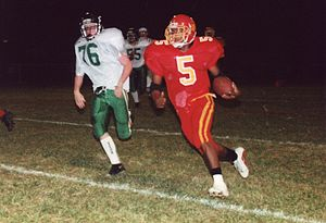 High school football, running back, 1999, by R...