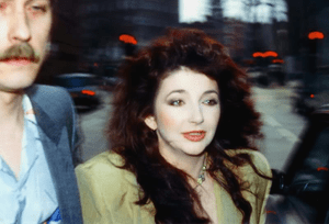 Kate Bush about to perform at Comic Relief 1986