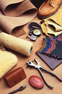 werkzeug zu ledertaschen Herstellung