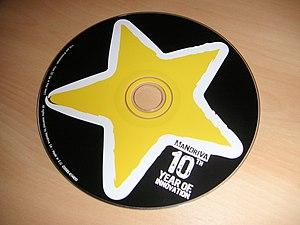 Image of Mandriva One 2008.1 LiveCD.