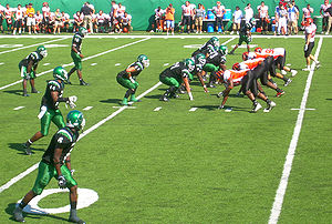 2007 homecoming game at Northeastern State Uni...