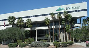 English: NV Energy corporate headquarters in L...