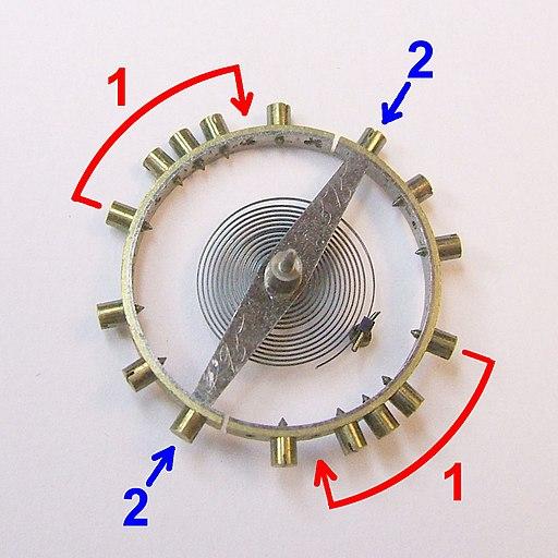 Pocket Watch Balance Wheel