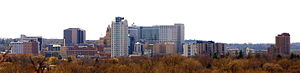 Rochester, Minnesota from Quarry Hill Nature C...