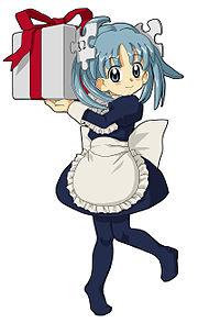 A  Wikipe-tan é a personagem em estilo mangá que personifica a Wikipédia.