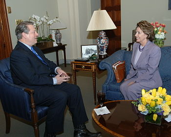 Al Gore and Nancy Pelosi