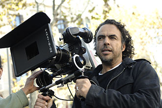 Alejandro González Iñárritu with a camera in production.jpg