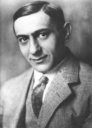 Deutsch: Ernst Lubitsch vor 1920 auf einer Fot...