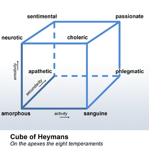 English: The Cube of Heymans is a description ...