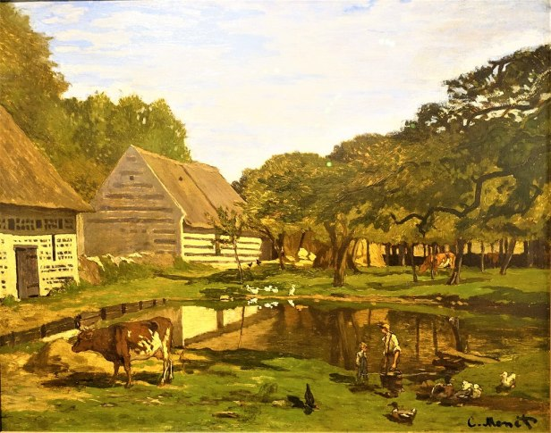 Farmyard in Normandy by Claude Monet - Musée d'Orsay, Paris