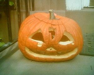 English: American Jack O Lantern, a Hallowe'en...