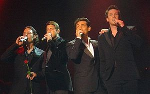 Il Divo Photo taken in concert (18 January 2007)