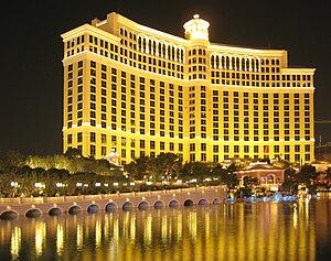"Casino ""Bellagio"" am Abend in Las Ve..."