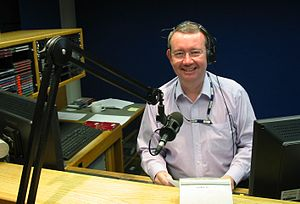 Picture of Matthew Price of BBC Radio Jersey t...