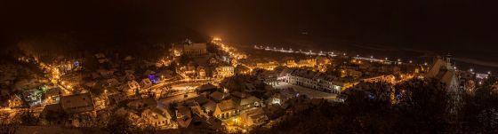 Panorama miasta nocą