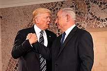 Netanyahu meets with President Donald Trump in Jerusalem, May 2017