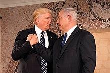 Netanyahu meets with President Donald Trump in Jerusalem, May 2017