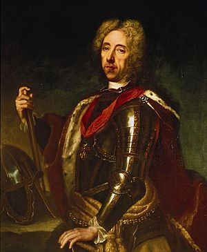 English: Portrait of Prince Eugene of Savoy by...