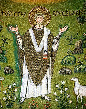 Saint Apollinaris, first bishop of Ravenna. De...