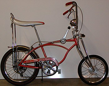 English: 1968 Schwinn Sting-ray Orange Krate 5...