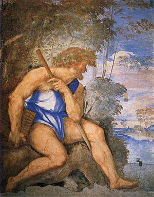 Sebastiano del piombo, polifemo