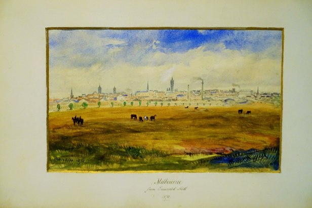 "State Library of Victoria - Joy of Museums - ""Melbourne from Emerald Hill"" by Robert Russell"