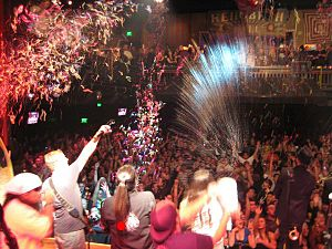English: New Year's Eve at the House of Blues,...