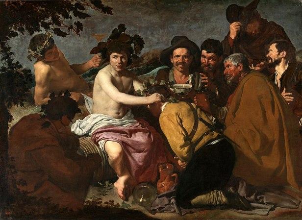 The Triumph of Bacchus by Diego Velázquez