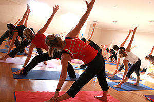 Yoga Class at a Gym Category:Gyms_and_Health_Clubs