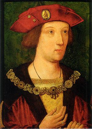 Arthur Prince of Wales c. 1500, 39.1 x 28 cm.,...