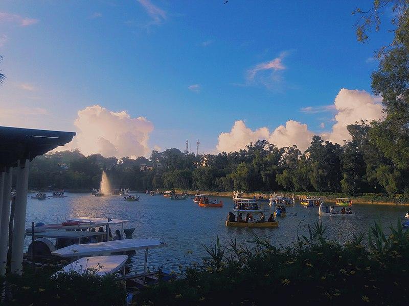 File:Burnham park baguio.jpg, Baguio itinerary