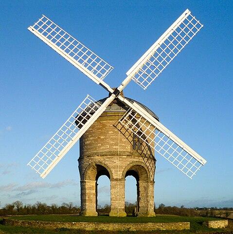 Chesterton Windmill. Built in 1632.