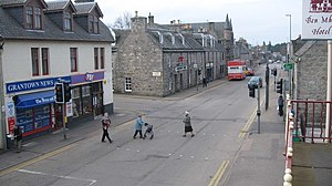 English: Grantown on Spey High Street This is ...