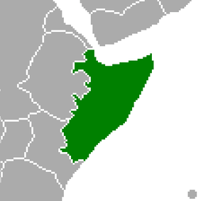 A rough approximation of a Greater Somalia inc...