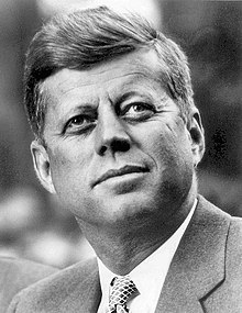 John F. Kennedy, White House photo portrait, looking up.jpg