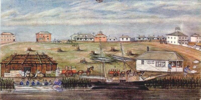 File:Landing at melbourne 1840.jpg