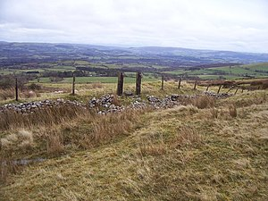 English: Old wicket onto the moors