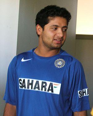 Piyush Chawla at Adelaide Oval