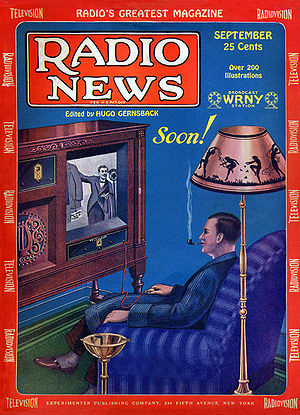 The ideal television of the future. The realis...
