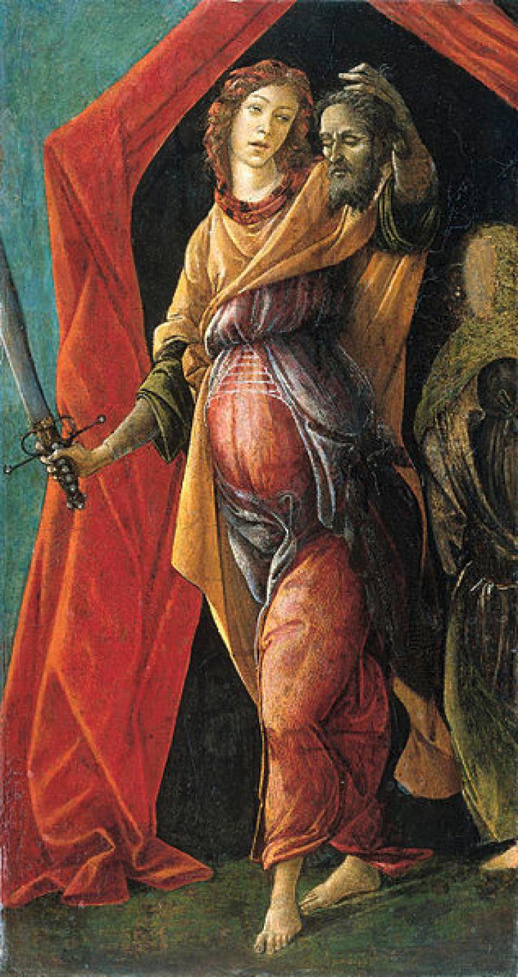 Datei:Sandro Botticelli - Judith met het hoofd van Holofernes.jpg