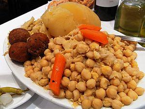 Verduras del cocido madrileño