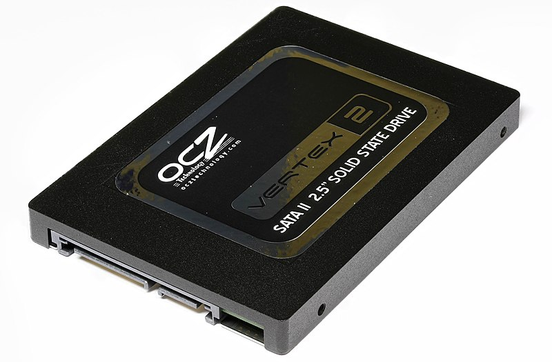 File:Vertex 2 Solid State Drive by OCZ-top oblique PNr°0307.jpg